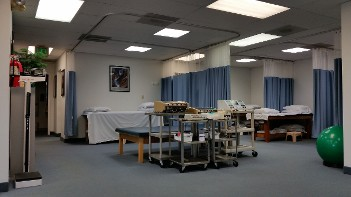 Beds in Our Physical Therapy Clinic - Baltimore